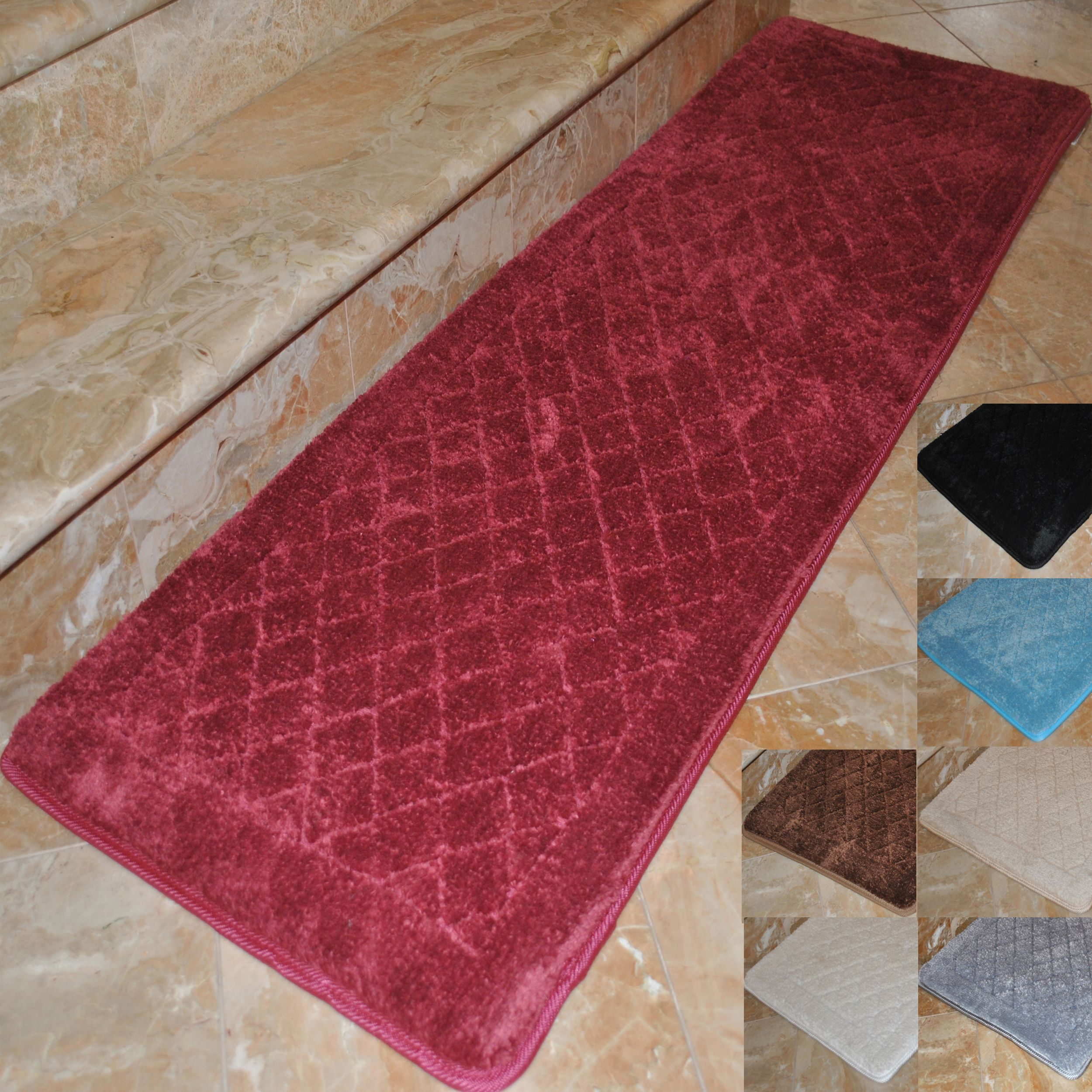 Can Bathroom Rugs Go In The Dryer: Step Into Plush Comfort When You Add This Extra-long