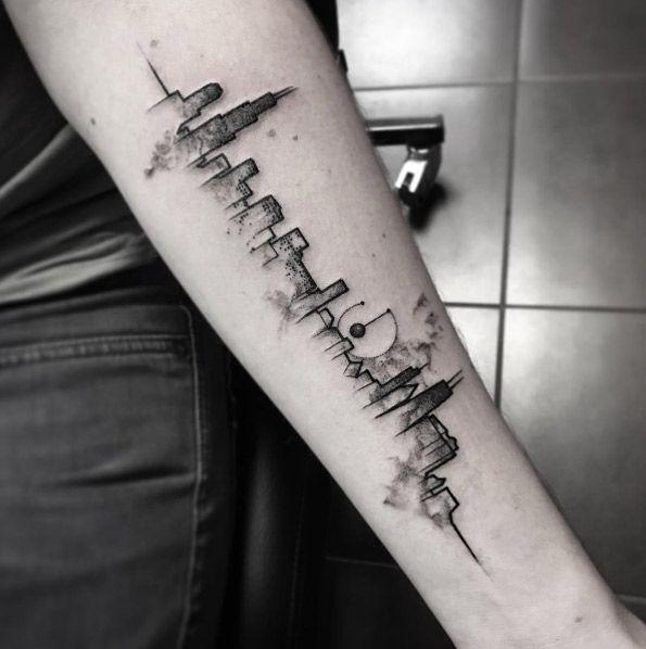 60 Utterly Beautiful Watercolor Tattoos We Love Skyline Tattoo