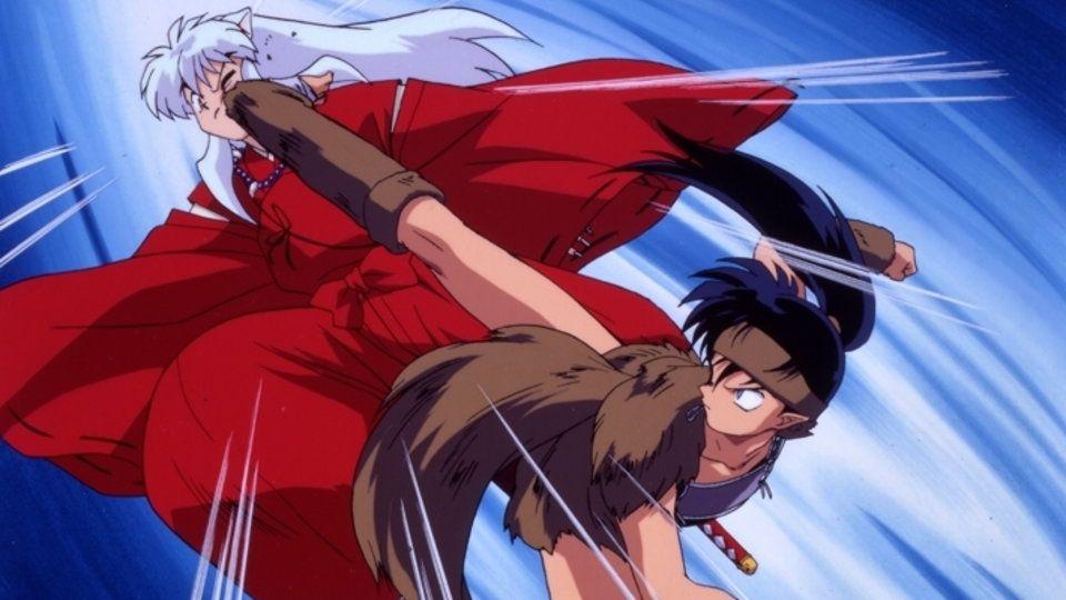 Inuyasha Vs Koga Inuyasha Inuyasha Anime Videogames