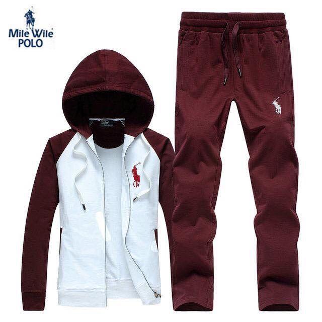 online retailer 3c2dc d6a21 Polo jogging suit Ropa De Hombre, Trajes Deportivos, Conjuntos Deportivos,  Blusas, Vestidos