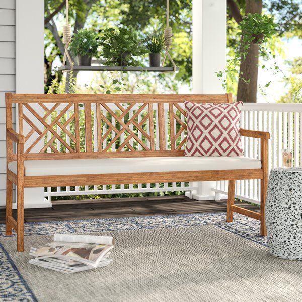 Alcott Hill Stanwich Acacia Garden Bench Amp Reviews