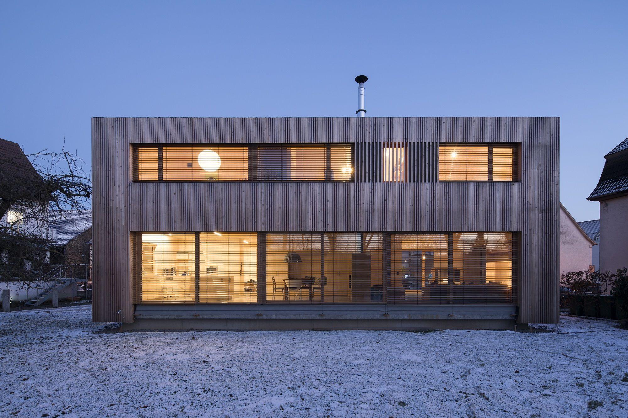 Kai Dongus Architekturburo In Ludwigsburg Moderne Hauser Architektur Haus
