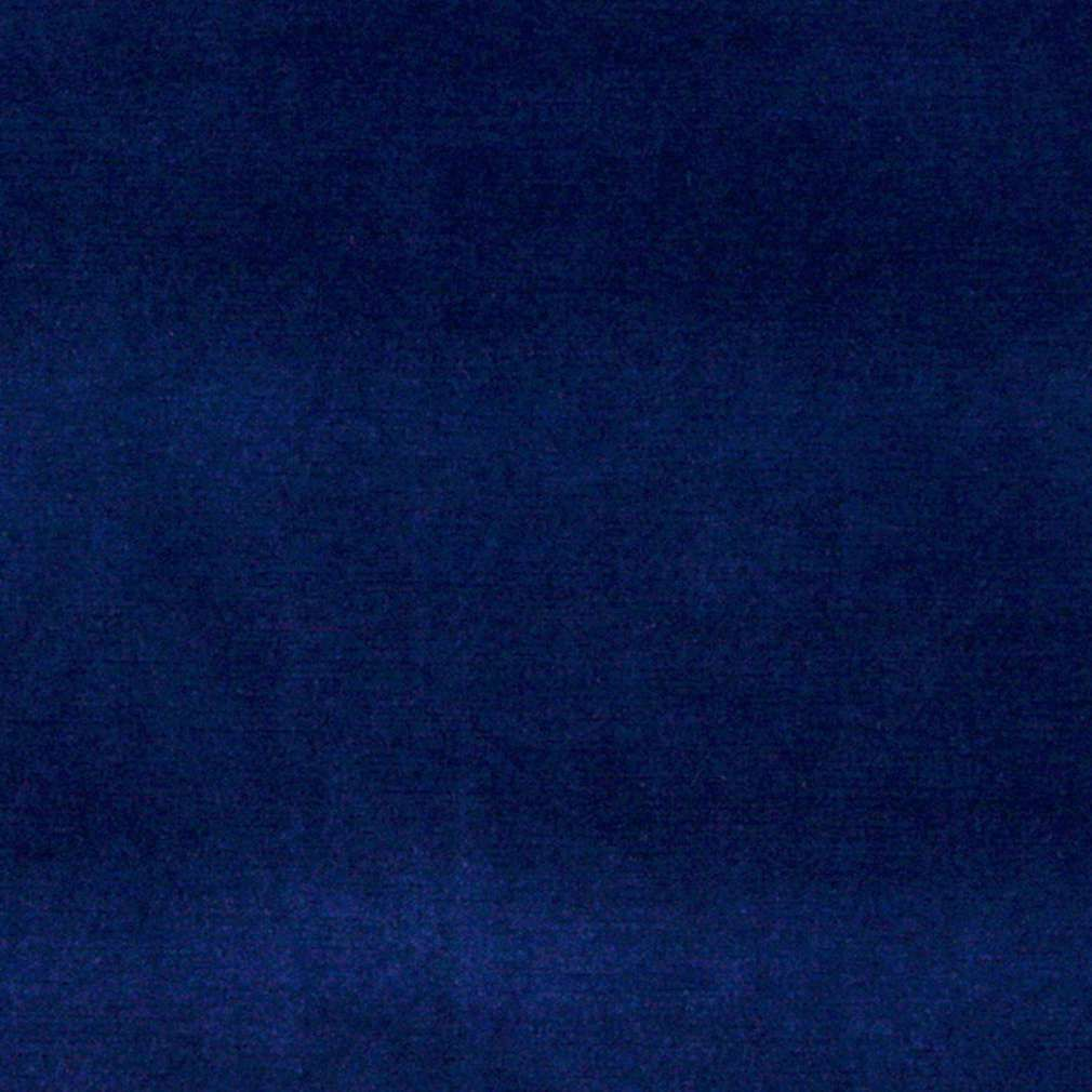 Dark Blue Authentic Cotton Velvet Upholstery Fabric By The