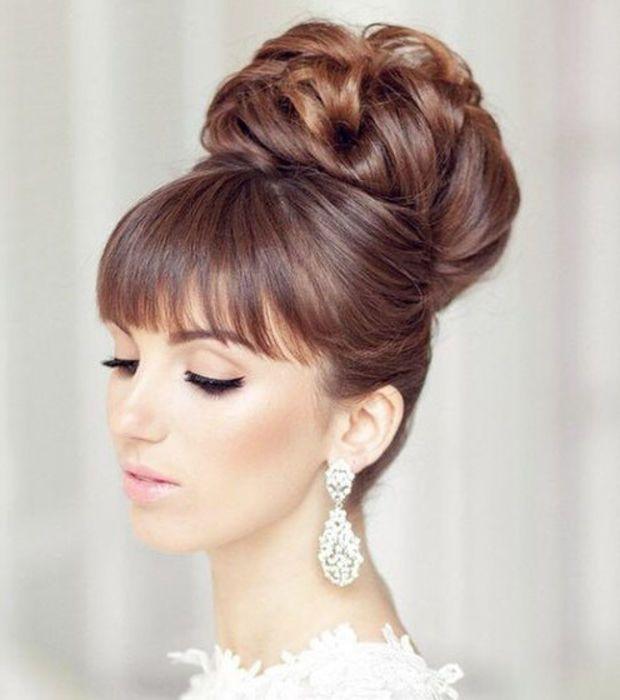 15+ Frange mariage coiffure inspiration