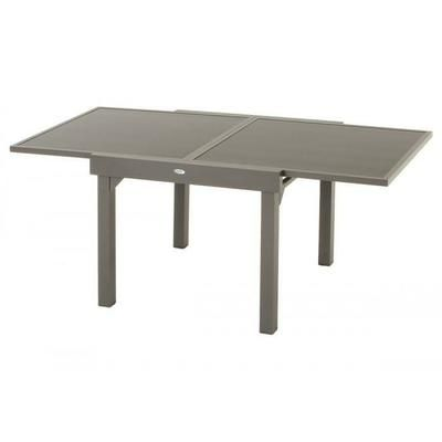 TABLE EXT.PIAZZA EXTENS. 90-180CM HESPERIDE MASTIC - Achat / Vente ...