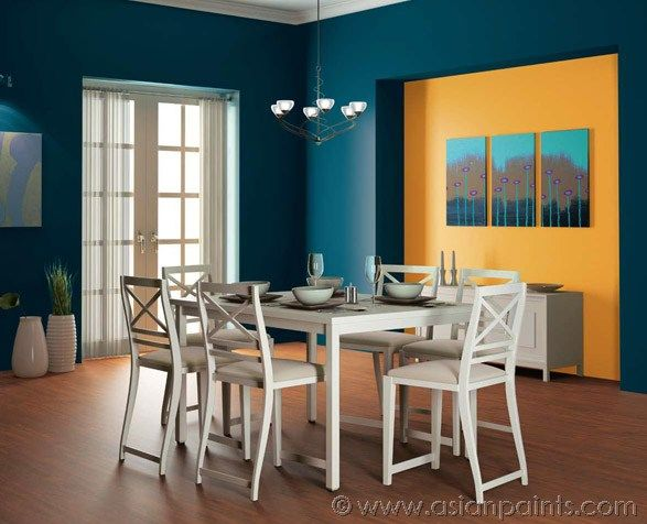 Satin Enamel For Dining Room Interiors