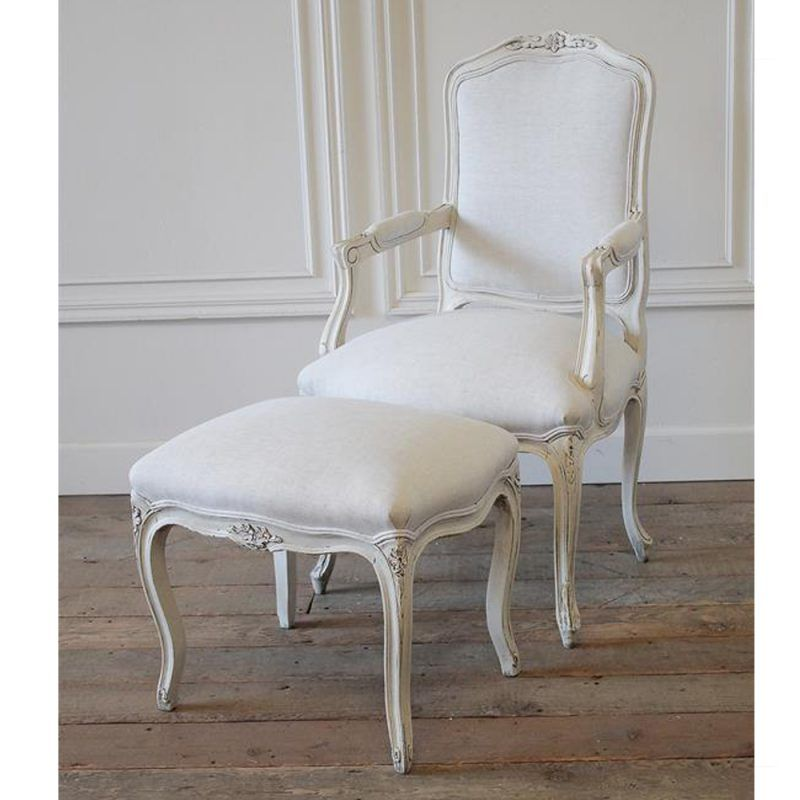 French Provincial Style Chair Furniture Mahogany Furniture
