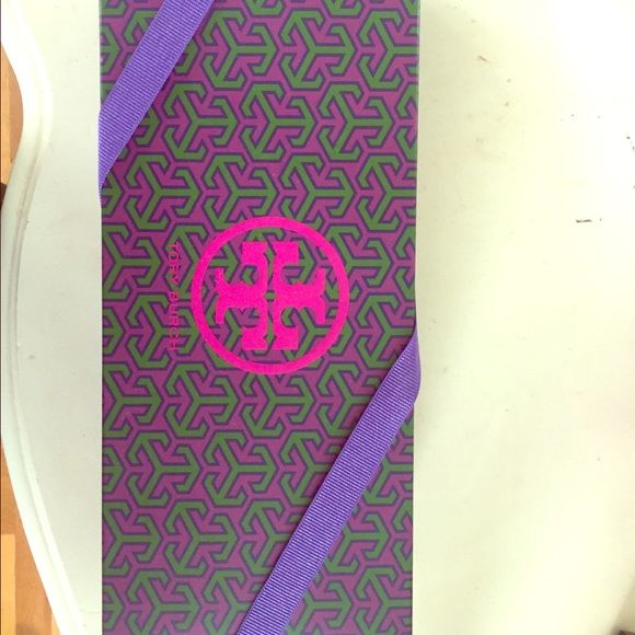 Tory Burch Box It is a authentic tory burch box that flip flops came in. Good condition. perfect to store things in or decorate your room or closet. Tory Burch Other