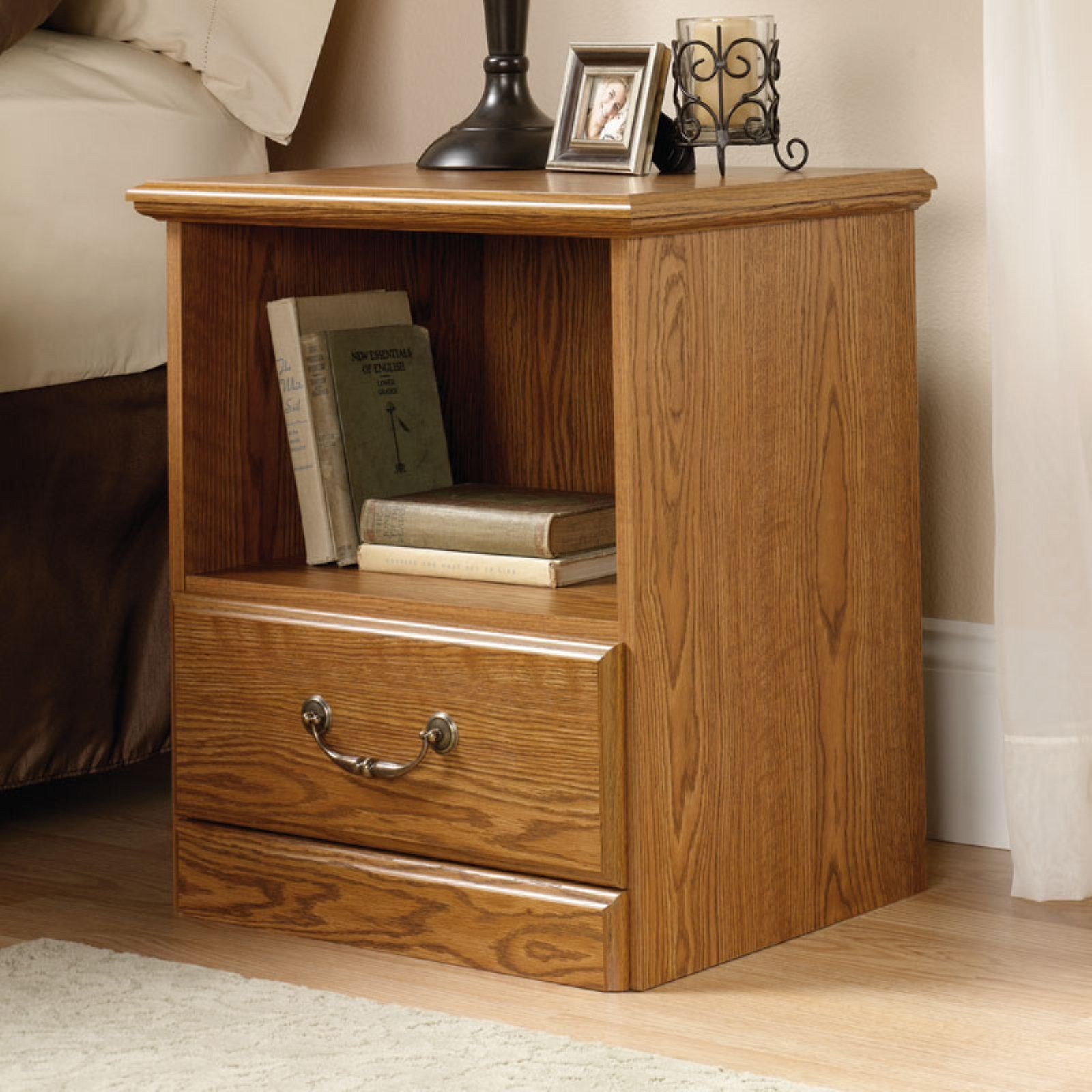 Foresthills Bedroom Large2: Sauder Orchard Hills Nightstand