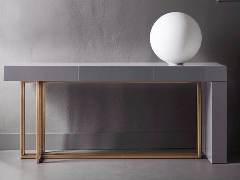 Lacquered Console Table QUINCY By Meridiani