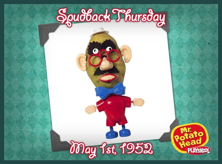 The first Mr. Potato Head contained only parts - Parents supplied children with real potatoes for the body! Mr. Potato Head, Playskool, vintage, toys