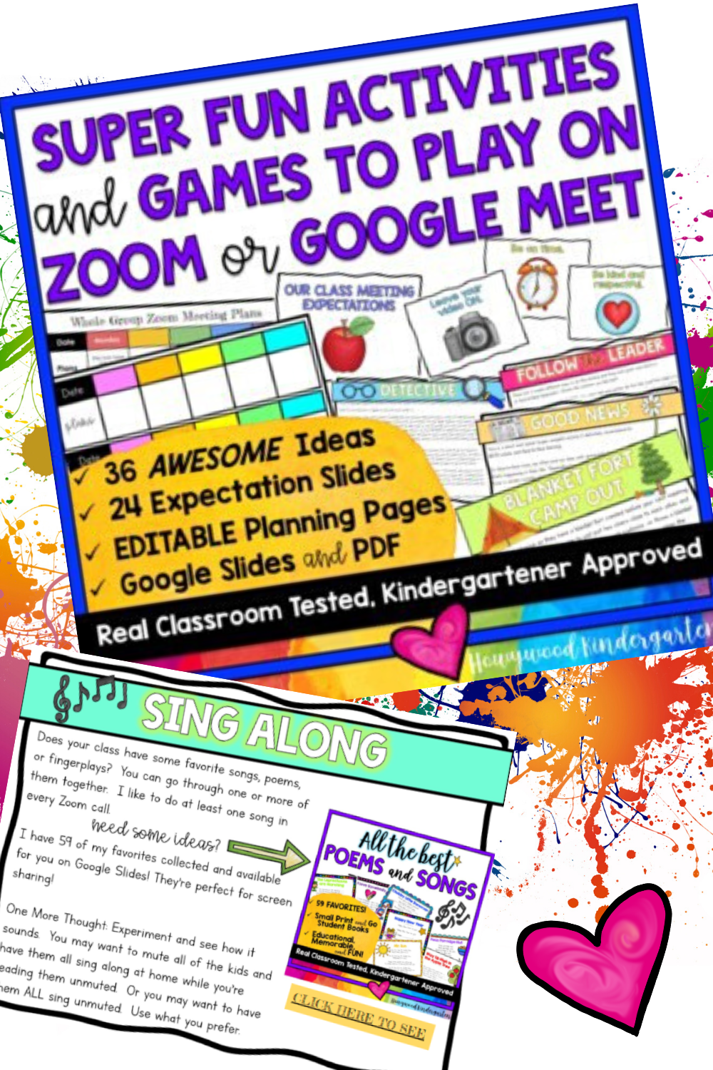 36 Awesome Activities Games To Use With Zoom Or Google Meet Distance Learning Distance Learning Google Classroom Kindergarten Teaching Activities
