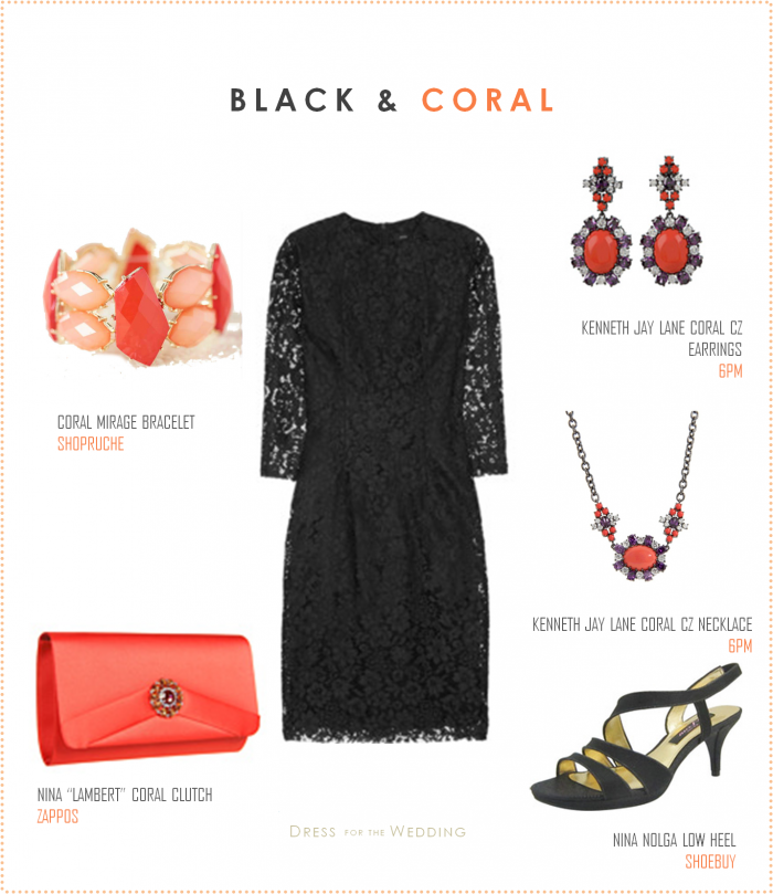 Little Black Dress With C Accessories