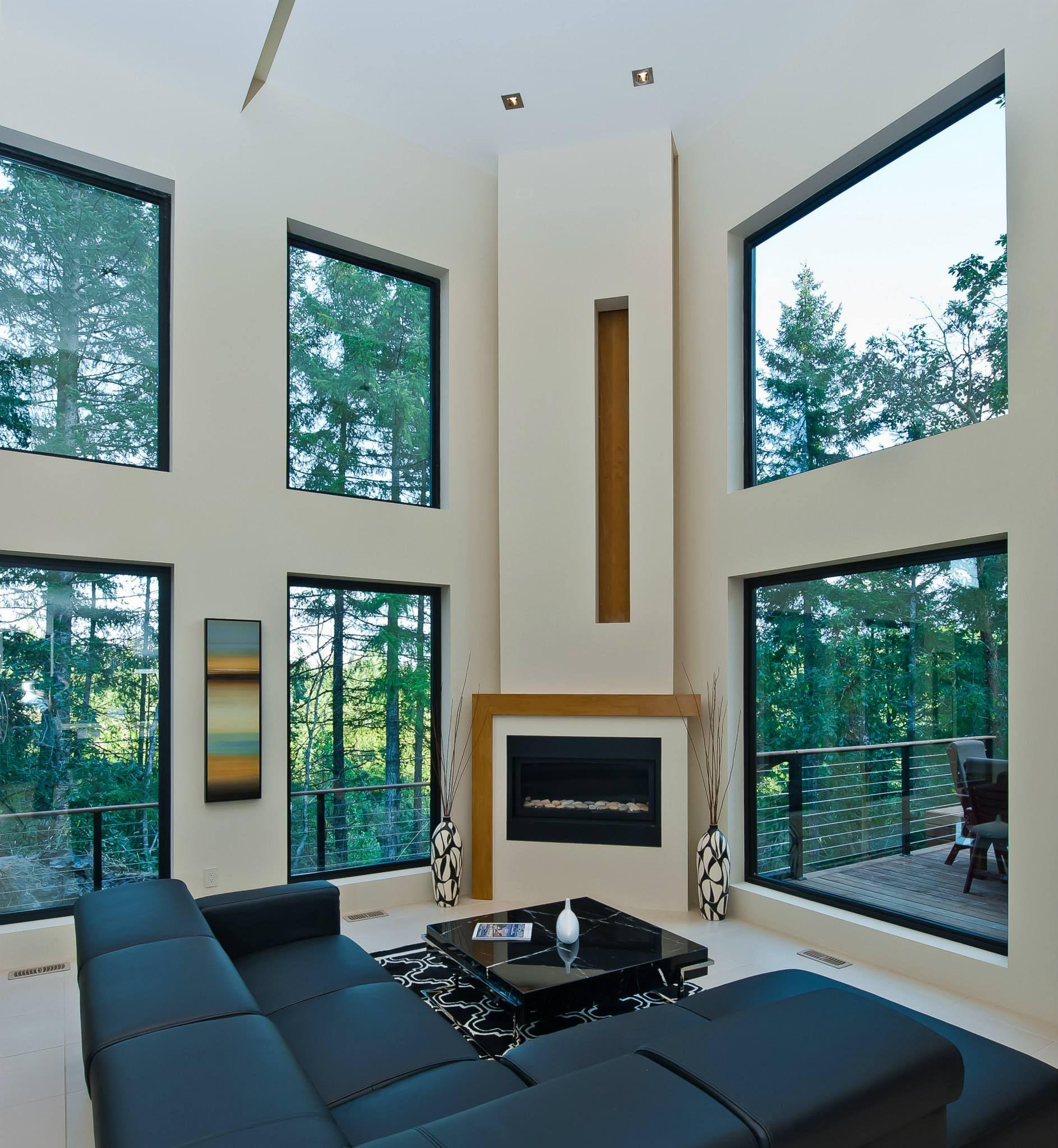 High Quality Alair Homes | Nanaimo | Custom Homes   Black Framed Casement Windows Invite  Natural Light