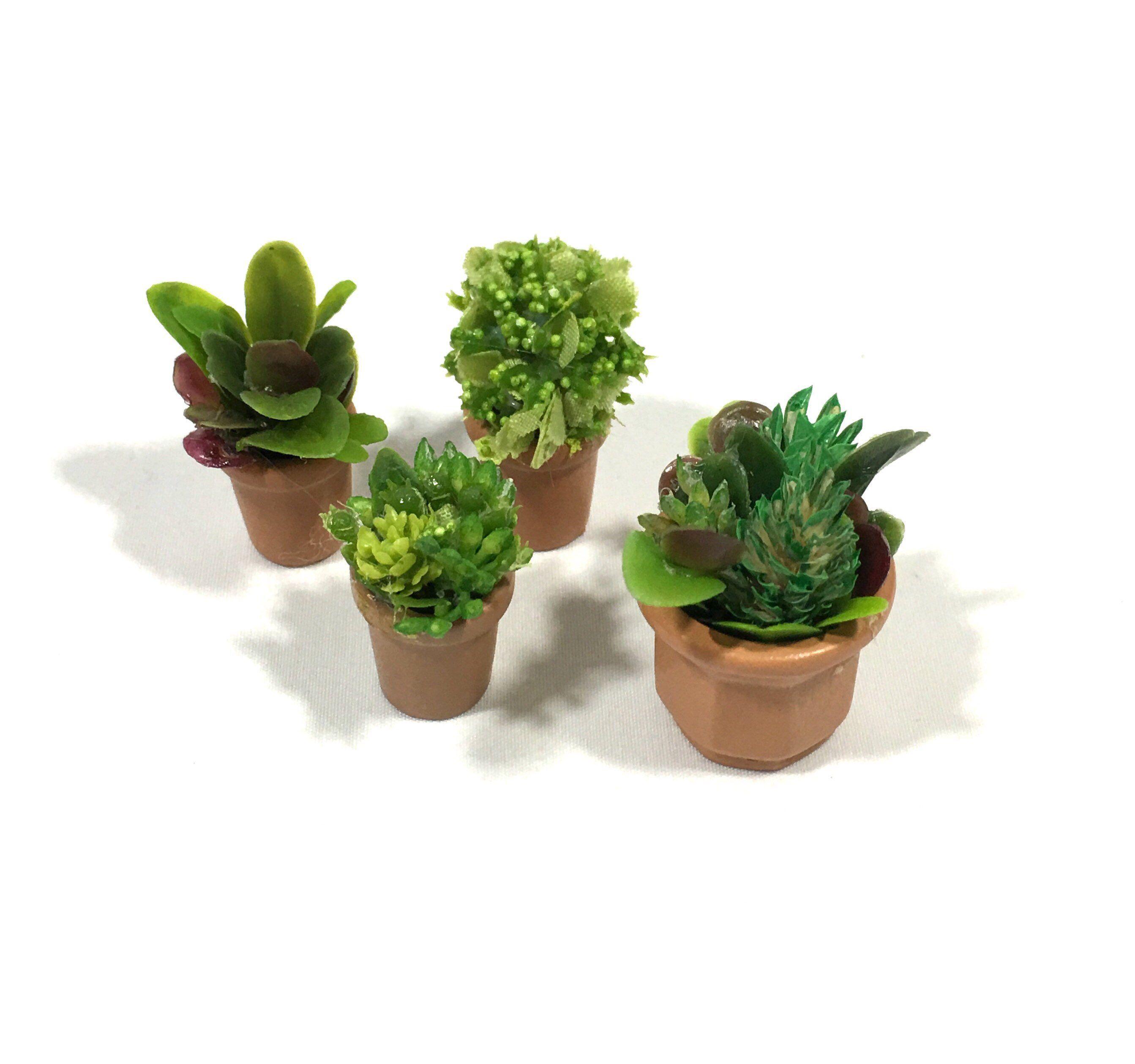 Dollhouse Potted Plant Miniature Fairy Garden