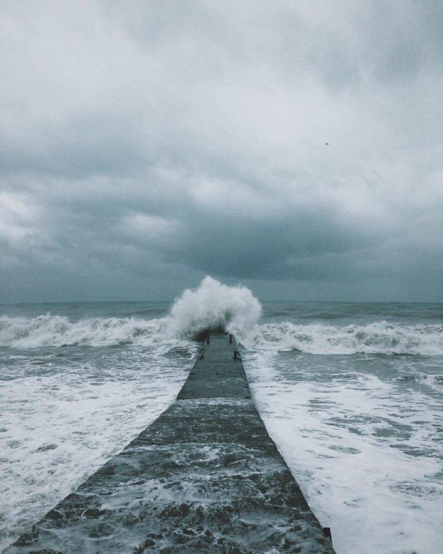 // #ocean #sea #storm #nature | via nikinwall.vsco.co by figandyarrow