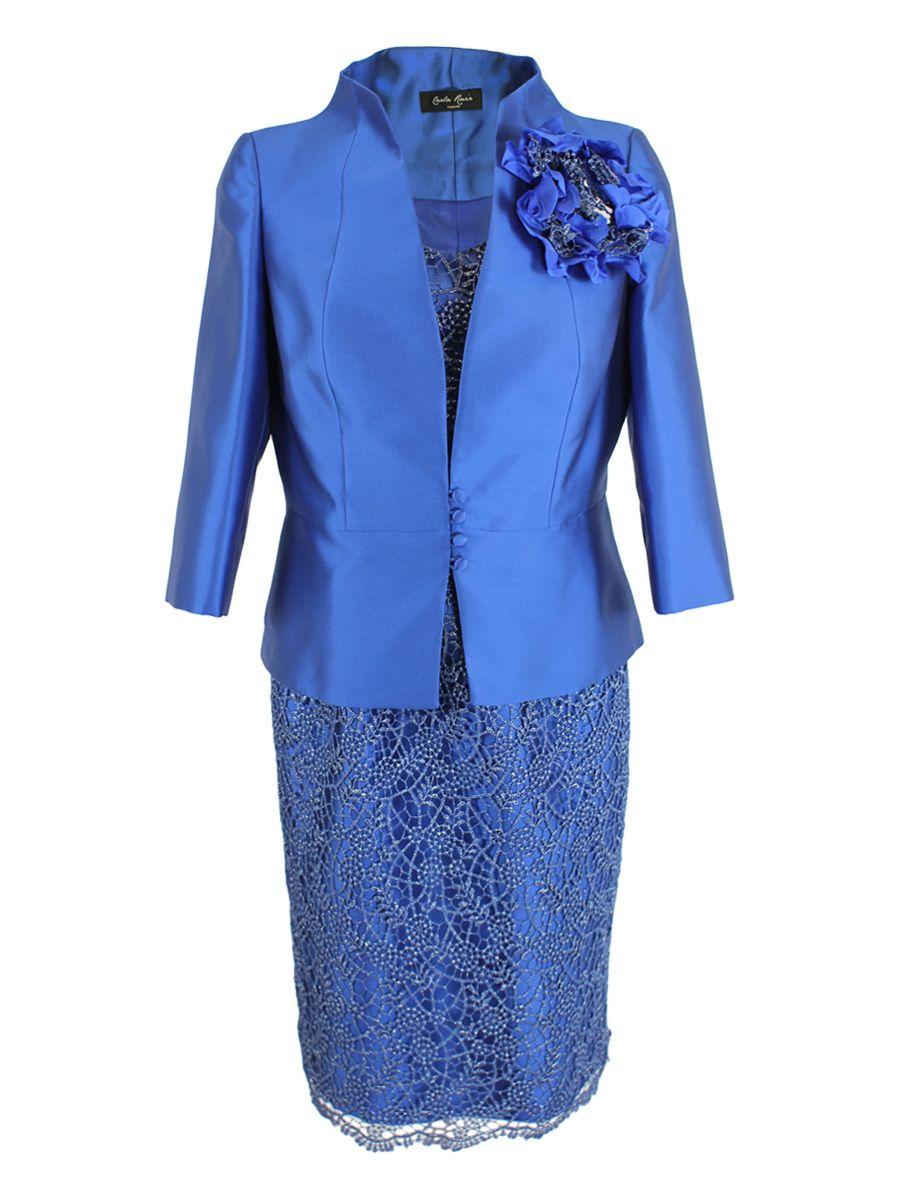 Carla Ruiz Blue Dress