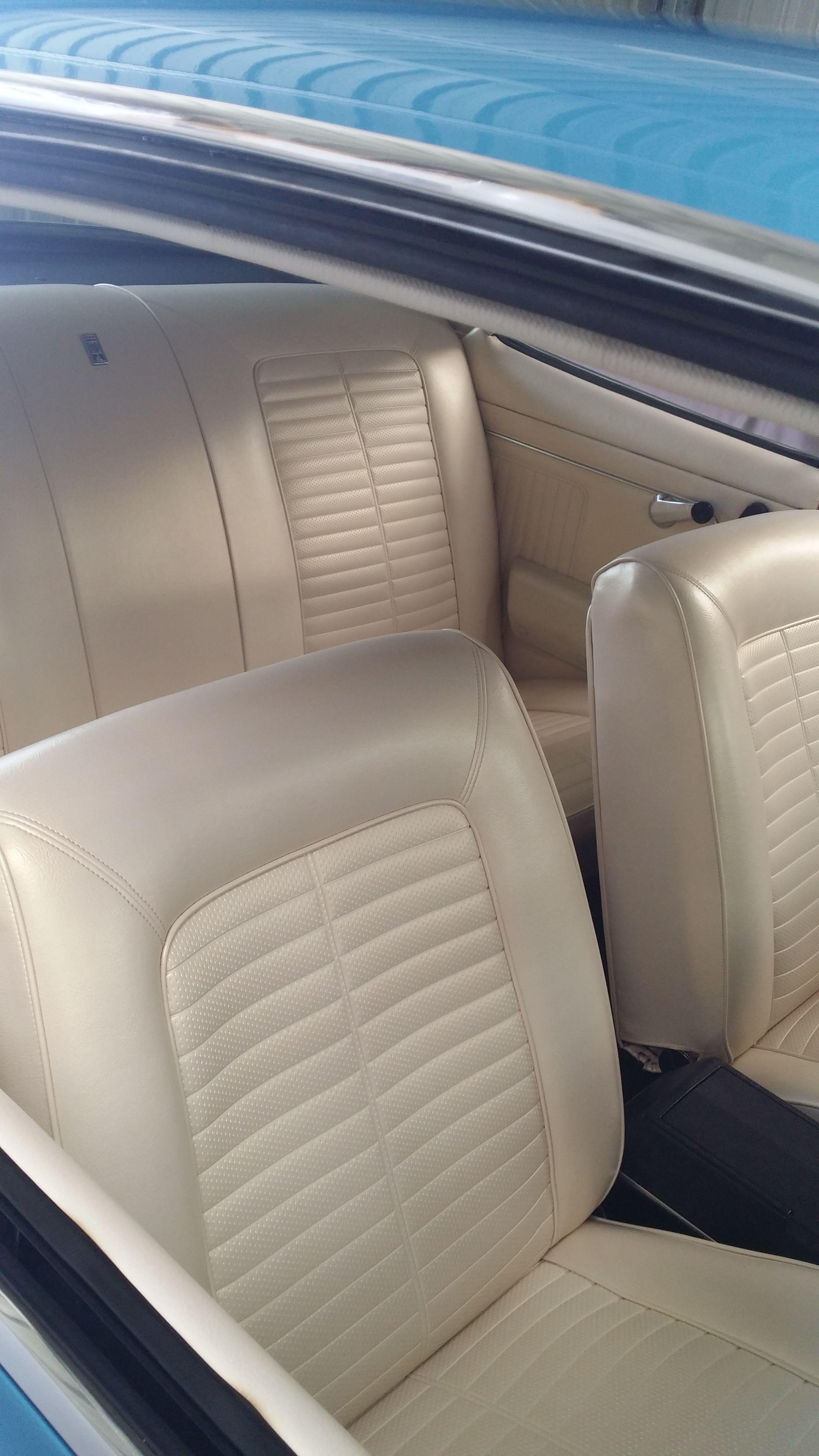 Holden HK Bathurst 327 interior trim | Leather work