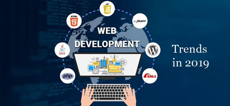 What Are The Trends For Web Development In 2019 Web Development Design Web Development Web Design Company