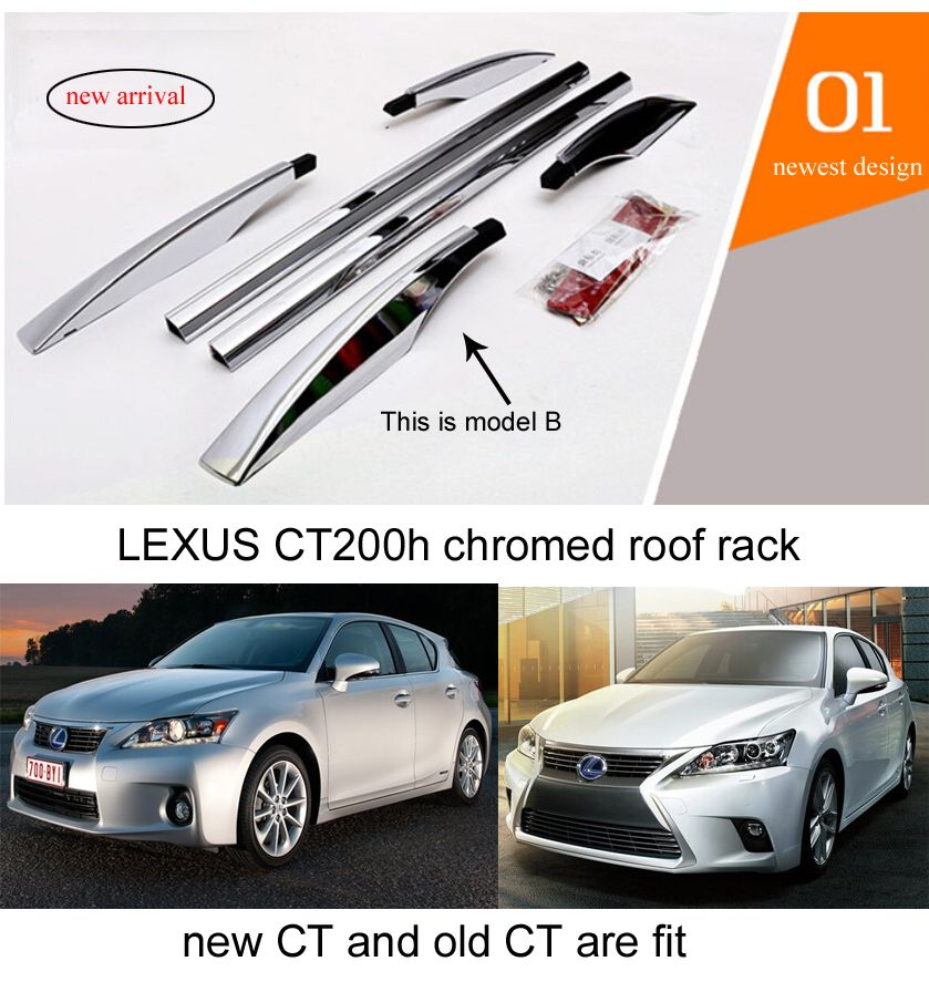 For Lexus Ct200h Roof Rack Roof Bar Rail Genuine Aviation Aluminum Alloy Two Models For Your Choice Quality Supplier Lexus Ct200h Lexus Roof Rack