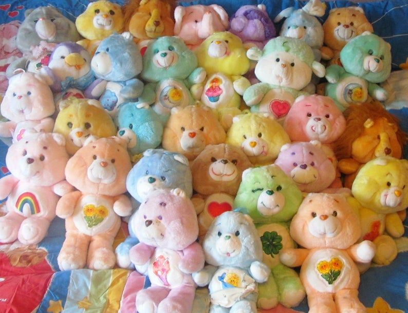 Pick Your Own 13 Care Bears Plush Grumpy Bear Etsy in