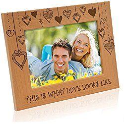 Kate Posh Rain Of Hearts This Is What Love Looks Like Wood