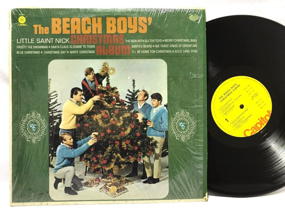 The Beach Boys - Christmas Album 1964 - Capitol Yellow Label - LP ...