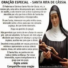 Resultado De Imagem Para Oração De Santa Rita De Cassia