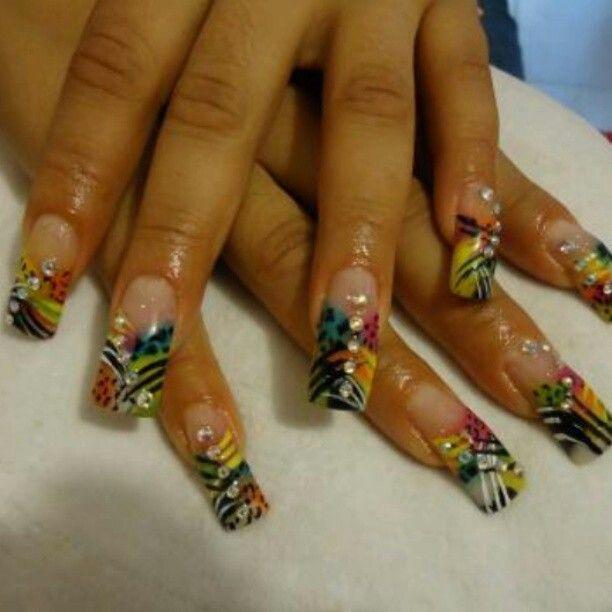 Finger Nail Art, Nail Art, Nail Art Designs