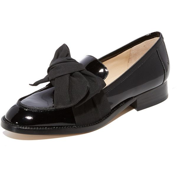 069c4df9465 Botkier Violet Bow Loafers (8
