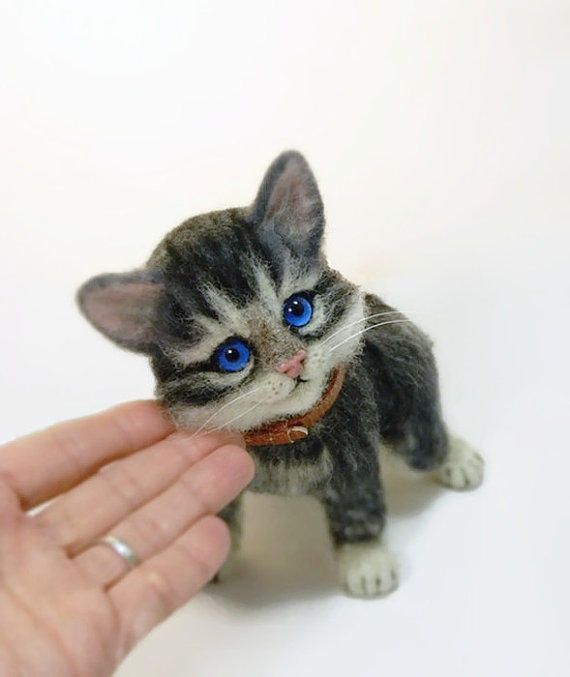 Needle felted MADE TO ORDER Felted Animal from SvetlanaToys on
