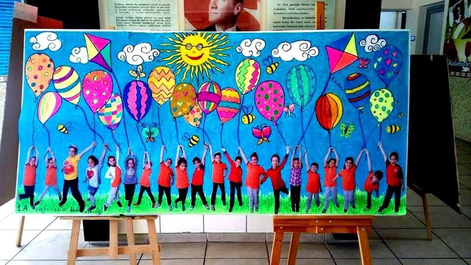 1 Sinif Resim Dersi Etkinligi Gorsel Sanatlar Sanat Resim