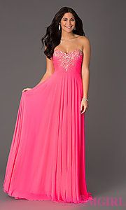 neon pink homecoming dresses - Google Search   Neon Homecoming ...