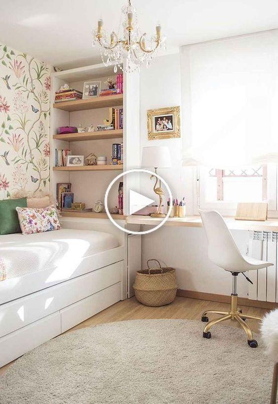 50+ Tiener Bedroom Ideas – The Mood Palette Genç odası