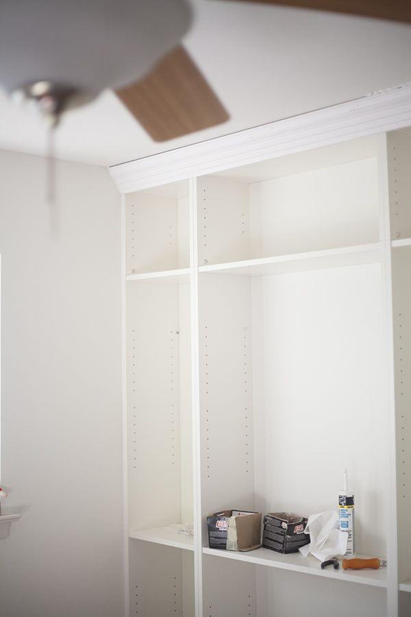 Diy Ikea Billy Bookcase Built Bookshelves