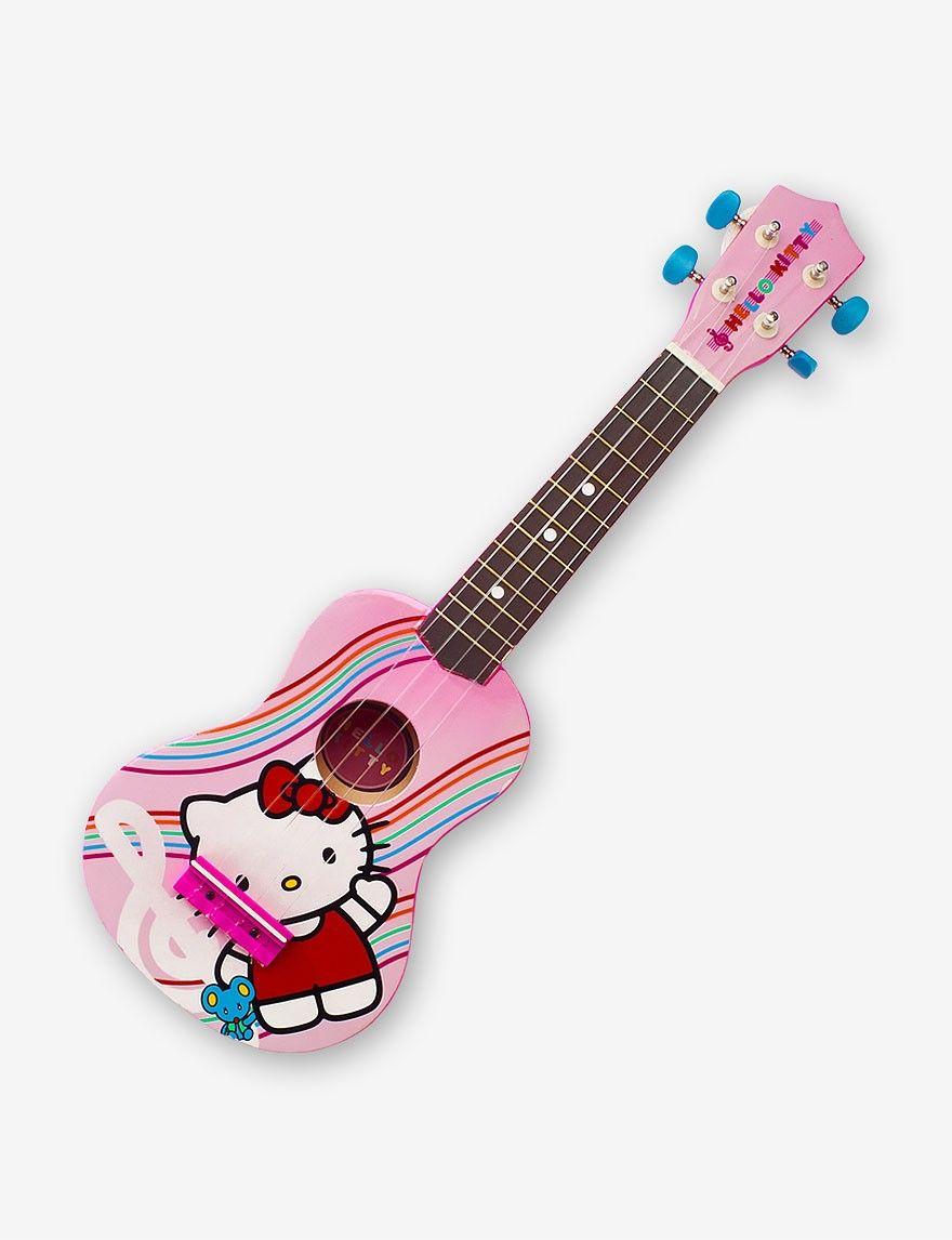 Hello Kitty Ukulele Guitar Ukulele Hello Kitty Kitty [ 1146 x 880 Pixel ]