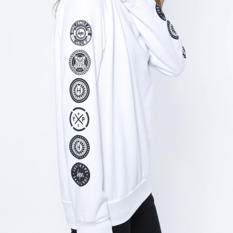 Pusero - Emblem City White/Black