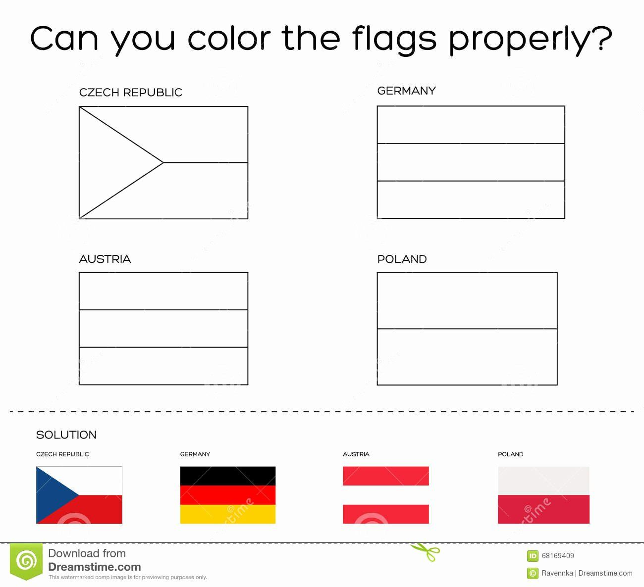 Illinois Flag Coloring Page Best Of Coloring Book Task European Flags With Solution Stock Flag Coloring Pages European Flags Germany Flag
