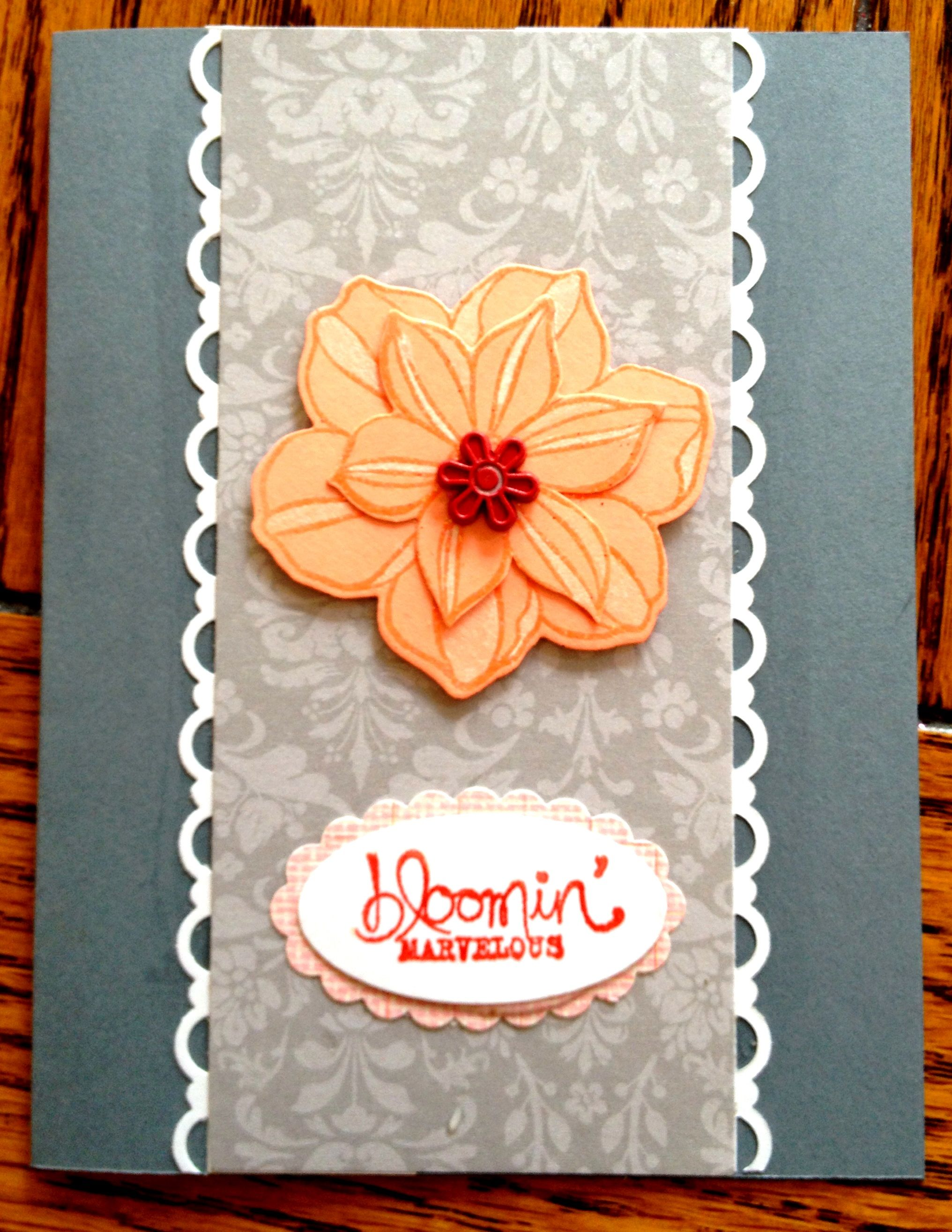 Stampin Up Blooming Marvelous