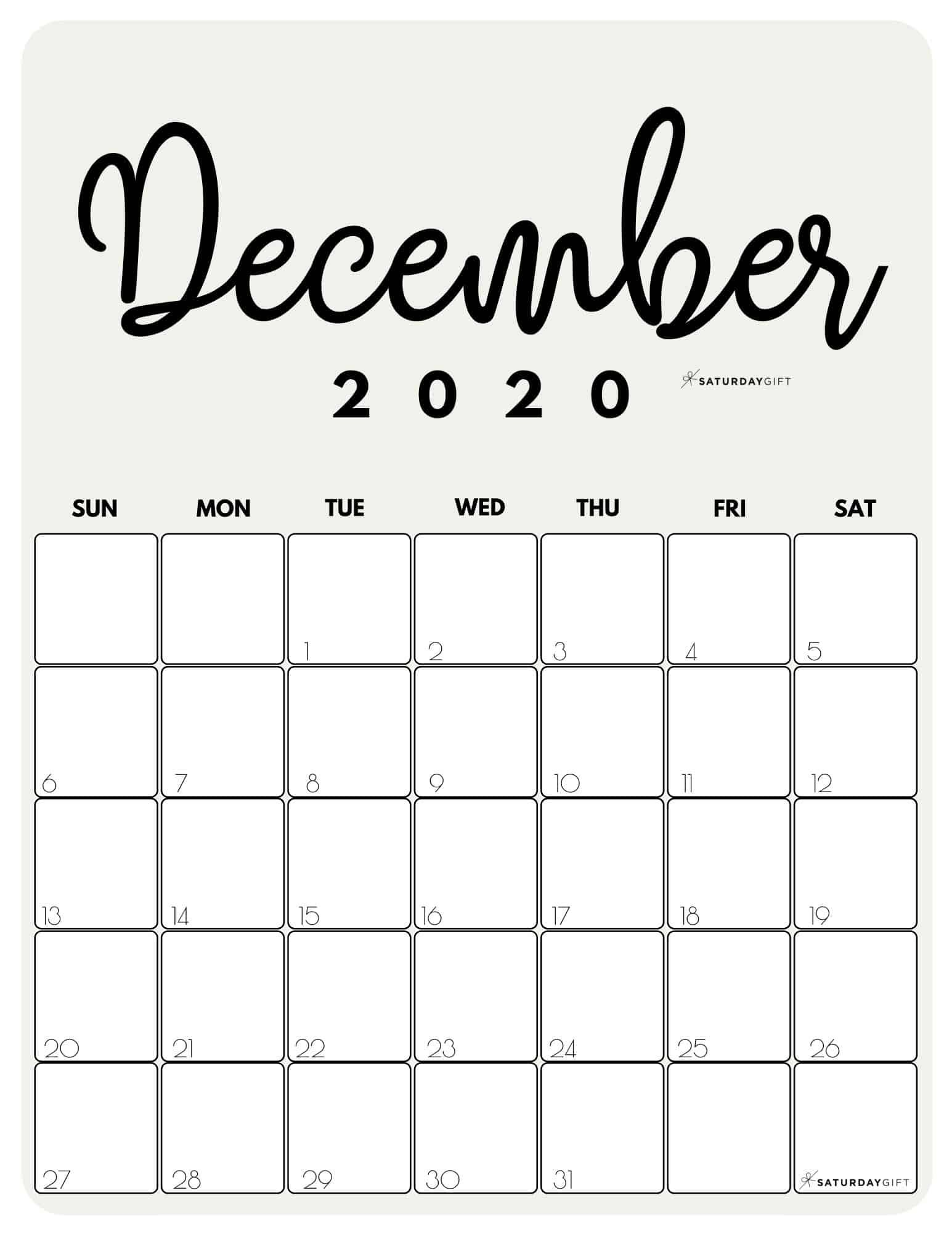 Here in the article ahead, you will explore the various types of blank templates of the calendar for your convenience and purpose. Cute (& Free!) Printable December 2021 Calendar ...
