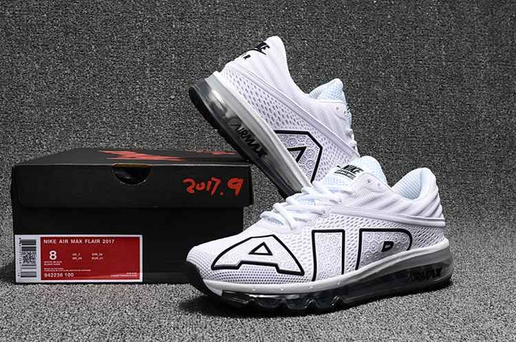 promo code 7627f a6028 White Nike air max 2017.9 new coming so hot