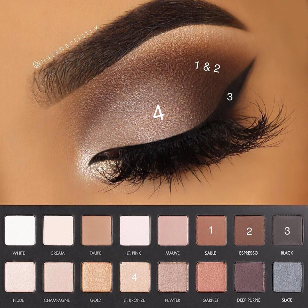 Simple Smokey Eye By Najahartistry With Propalette 1