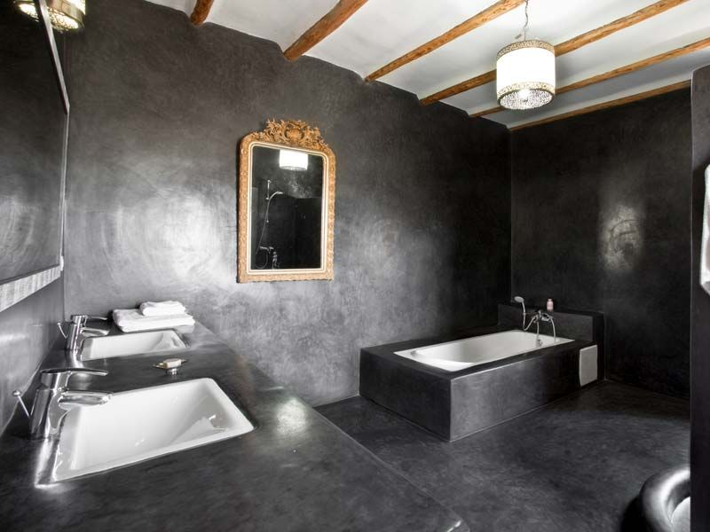 salle de bains anthracite recherche google salles de bain pinterest. Black Bedroom Furniture Sets. Home Design Ideas