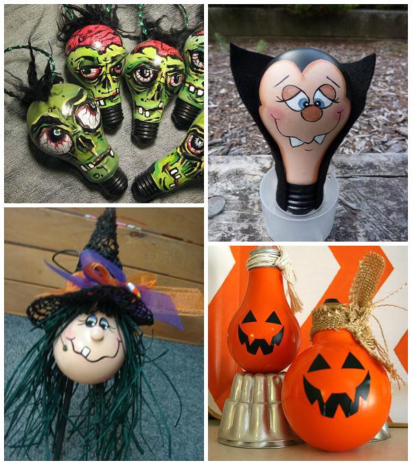 Halloween Light Bulb Crafts Crafty Morning Light Bulb Crafts Halloween Crafts Halloween Lights