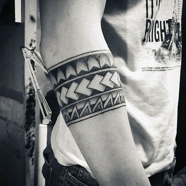 70 Armband Tattoo Designs For Men Masculine Ink Ideas Tattoo
