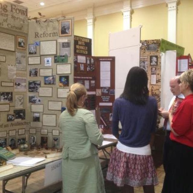 What Does A Stem Elementary School Look Like: What A History Fair Looks Like