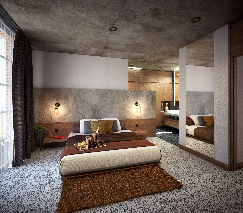 Confortables y de estilo moderno son las recamaras del for Minimalismo moderno