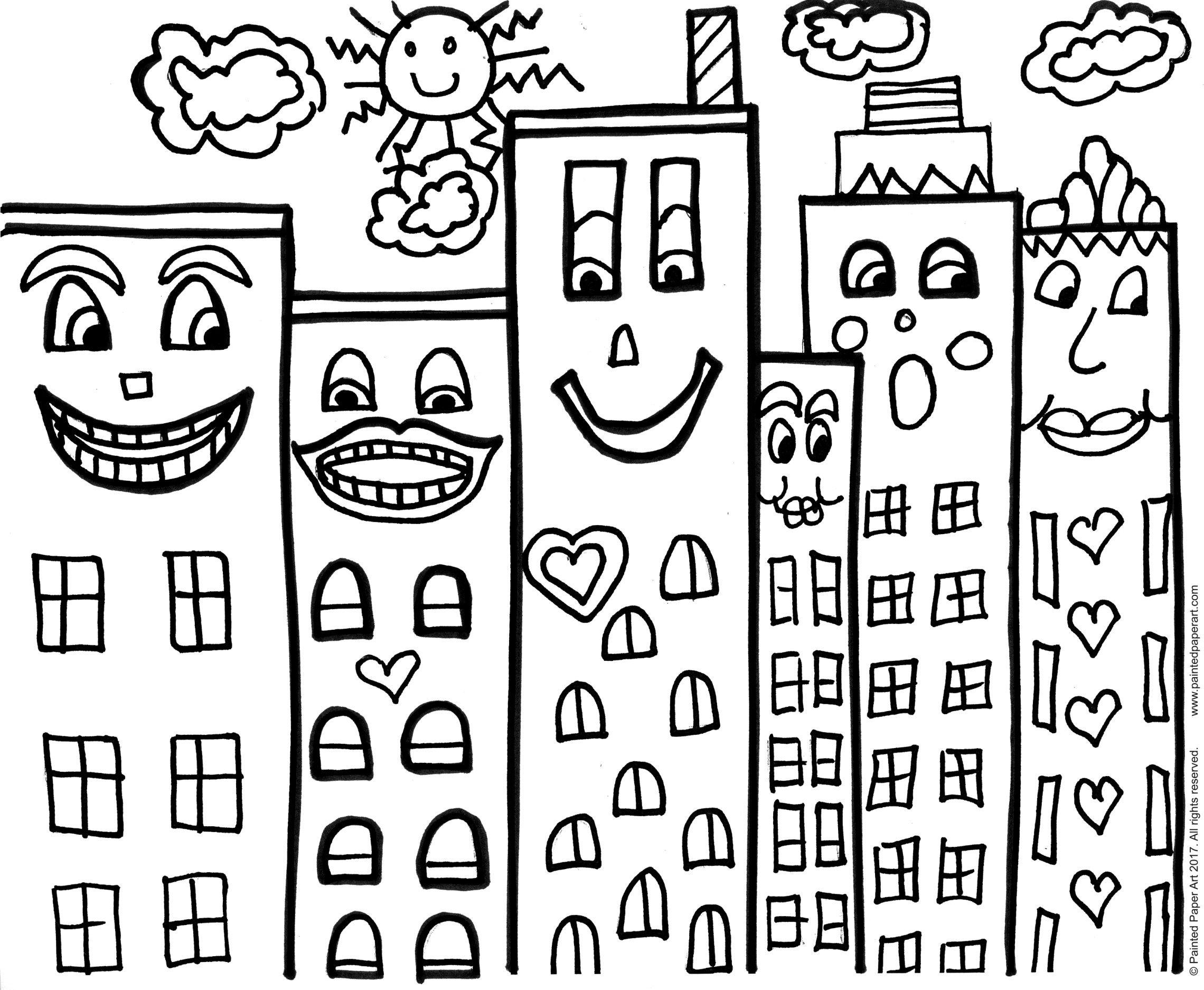 James Rizzi Pop Art Buildings
