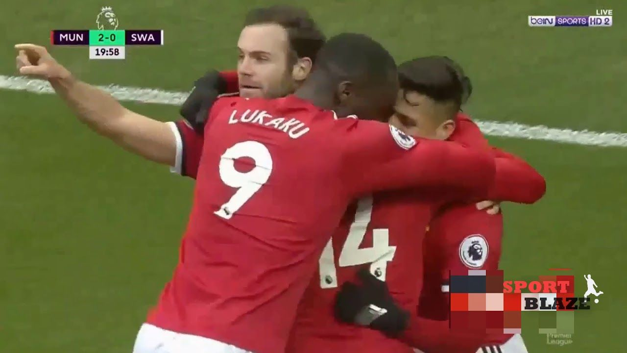 Man Utd Vs Swansea 2 0 Full Hd Highlight Sports Youtube Sports Jersey