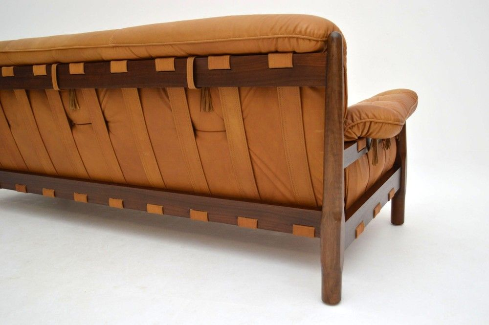 Danish Retro Leather Sofa For London Vintage Retrospectiveinteriors